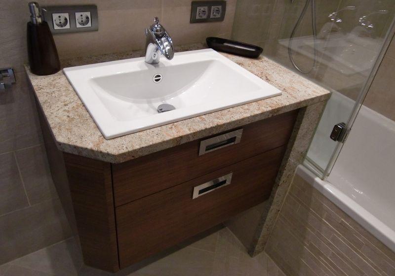 waschtischunterschrank mit eingebauten becken